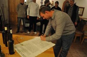 Podpis Charty Autentistů 2011
